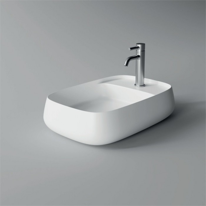 Lavabo, vasque Nur 60x40cm Plan (16 couleurs) rectangle ref. 33200101